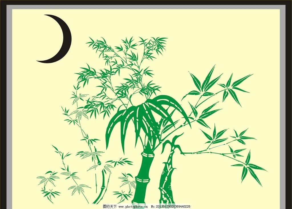 竹子 矢量竹子图片