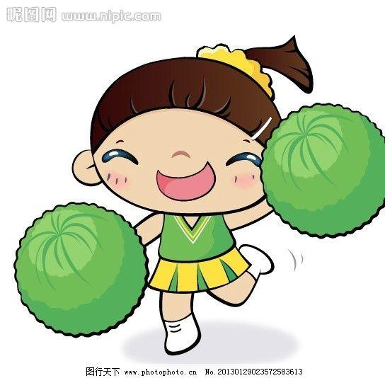 儿童画 卡通画 男孩 女孩 贴纸插图 儿童插图 插画 无框画 卡通素材