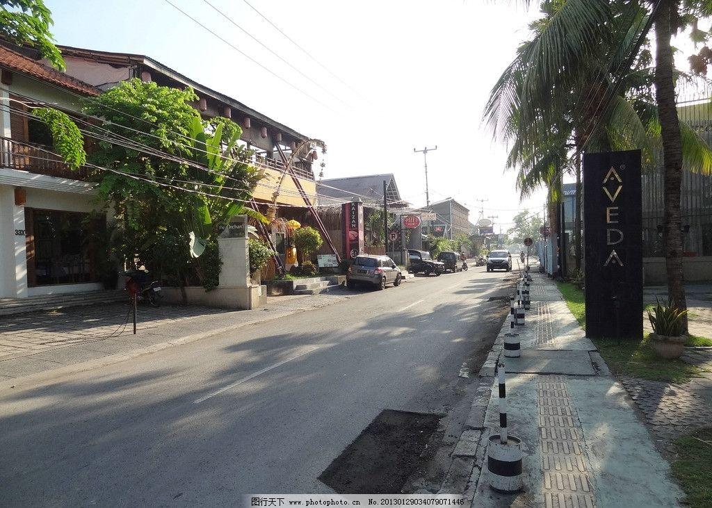 巴厘岛街景图片