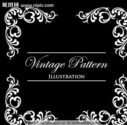 背景底纹  时尚简约欧式花纹 简约 欧式花纹标签 欧式 花卉 贵族 皇室
