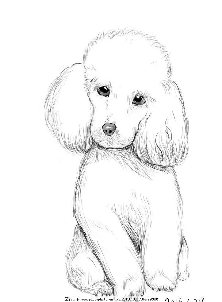 狗狗怎么画简笔画