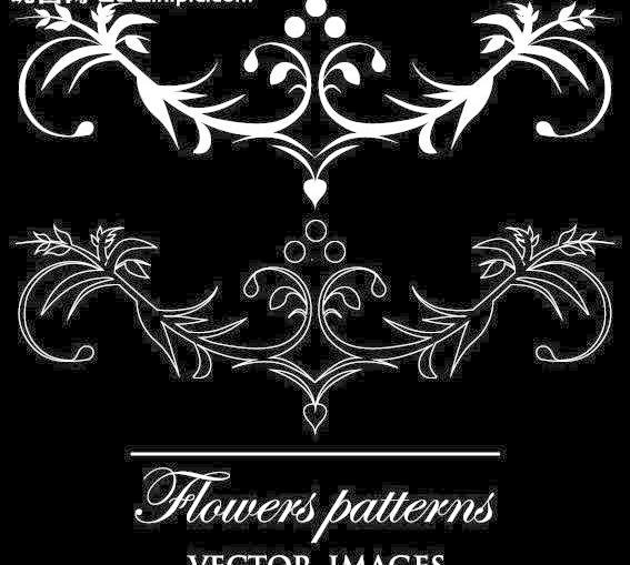 时尚简约欧式花纹 简约 欧式花纹标签 欧式 花卉 贵族 皇室 植物 古典