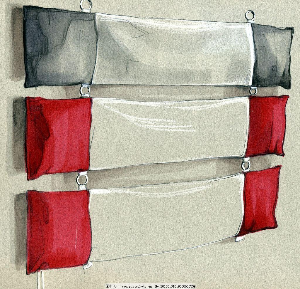 工业设计手绘淡彩草图 马克笔 色卡纸 色粉 淡彩 快题 设计 手绘 挂件