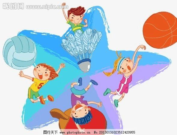 手绘儿童插画图片