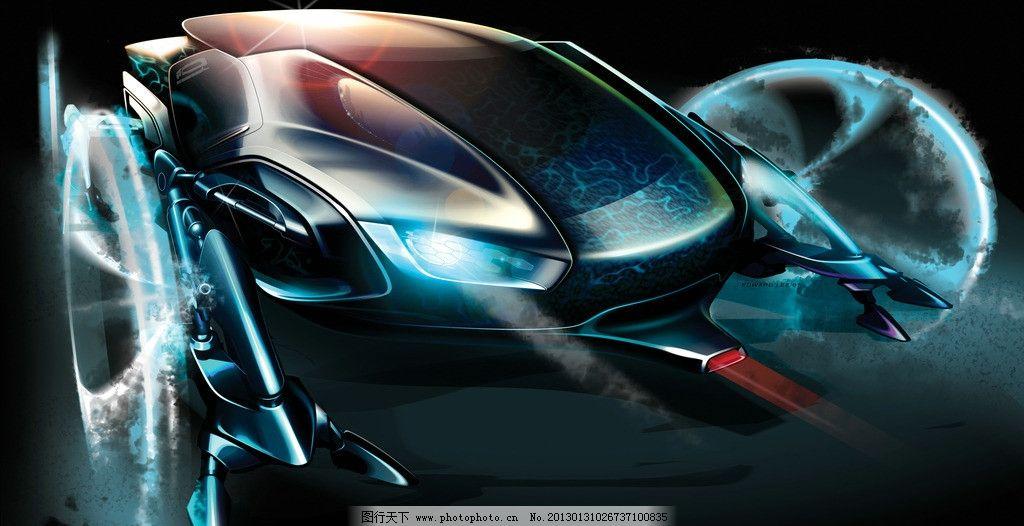 概念汽车 工业设计 产品设计 概念设计 概念手绘