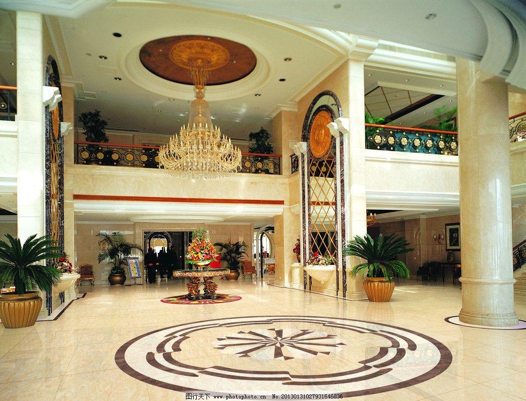 欧式奢华酒店大堂图片