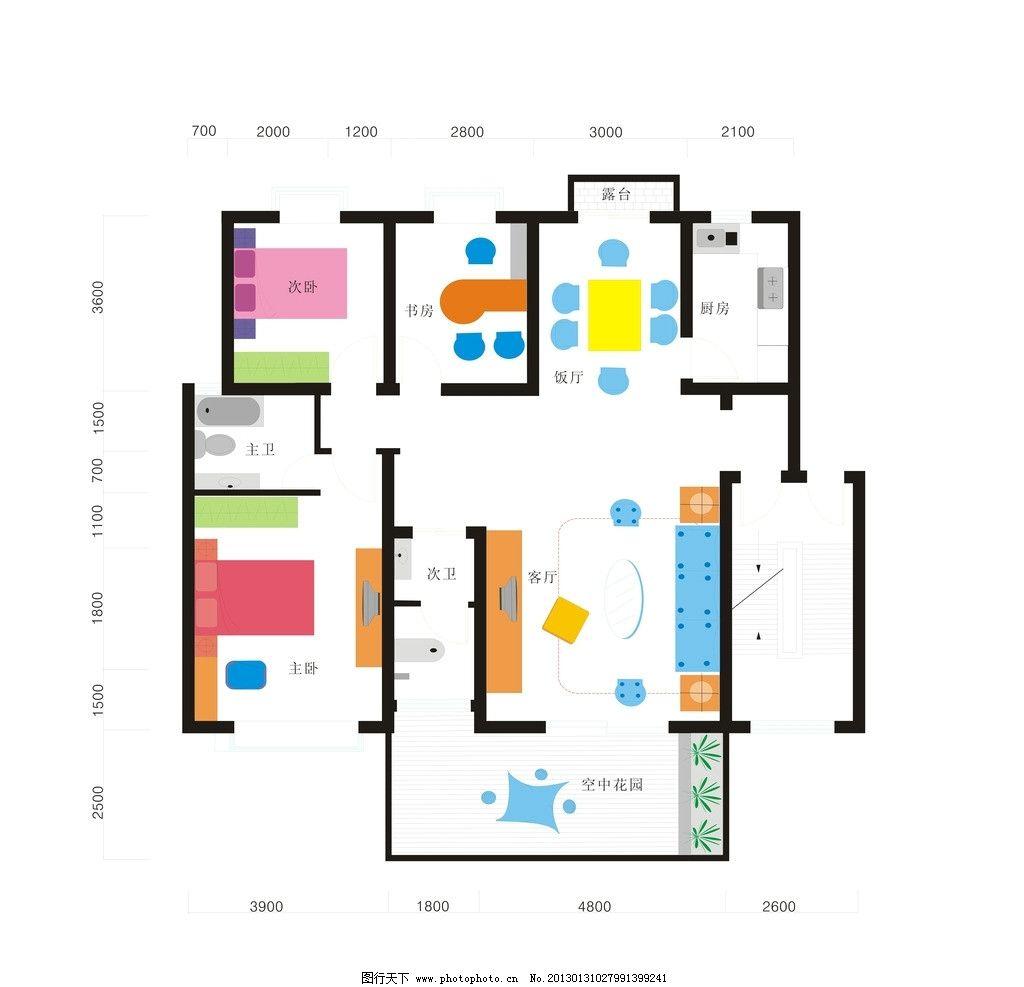 室内设计图纸 室内设计
