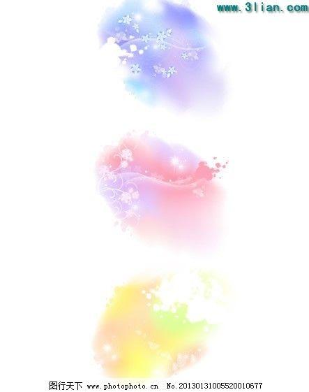 淡雅背景花纹