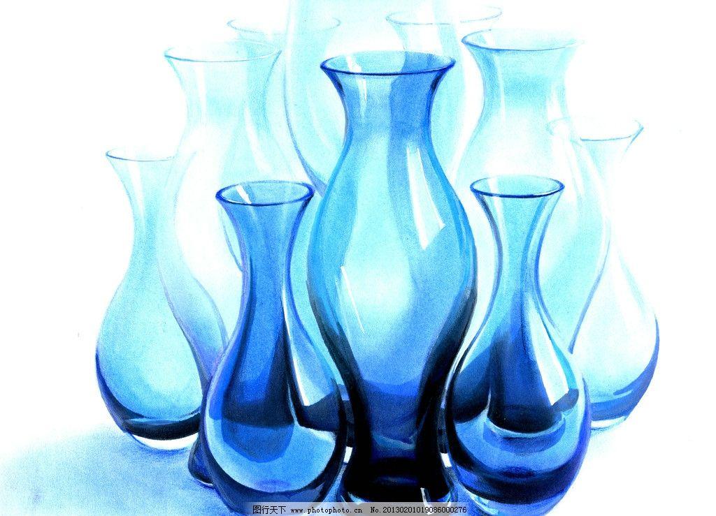 设计手绘淡彩草图 马克笔 周波 色粉 淡彩 快题 手绘 工业设计 玻璃