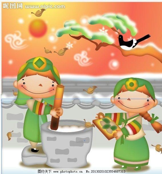 韩国儿童图片