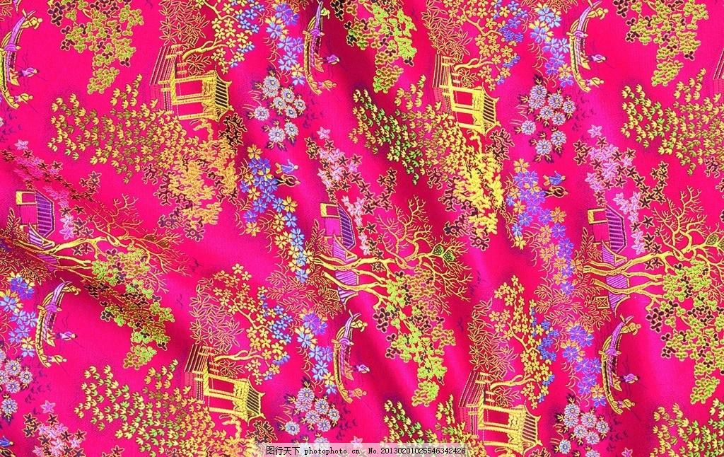 布料印花 面料花纹 绿色丝绸 丝绸布纹 丝绸 古代布纹 吉祥布纹 绸缎