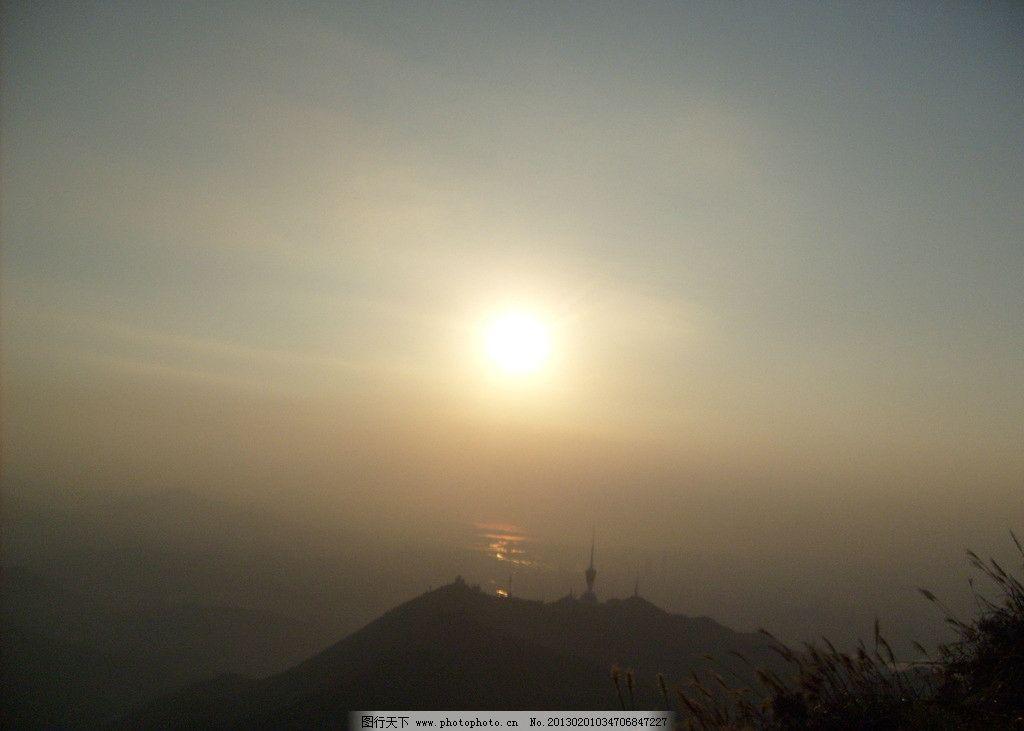 自然风景夕阳图片