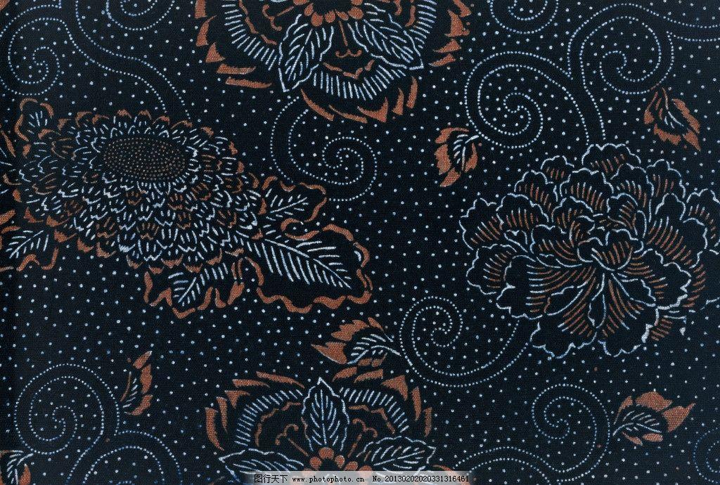 蓝黑色布纹 蓝色布纹 蓝色 布纹 深蓝色 花型 底纹 格子 花边 背景