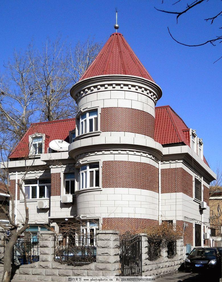 城堡式小别墅图片