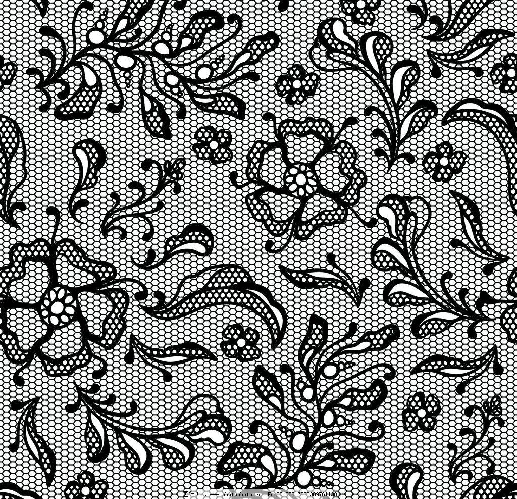 古典花纹 古典花边 古典底纹 复古花卉花纹 手绘花纹 古典边框 欧式