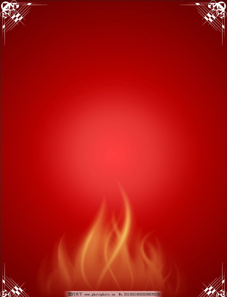 菜牌背景 餐饮 牌 点菜单 单谱 底纹边框 饮食海报 背景 红色 火焰