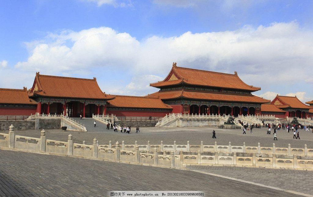 故宫 太和殿 汉白玉      宫殿 琉璃瓦 古建筑 北京 国内旅游 旅游