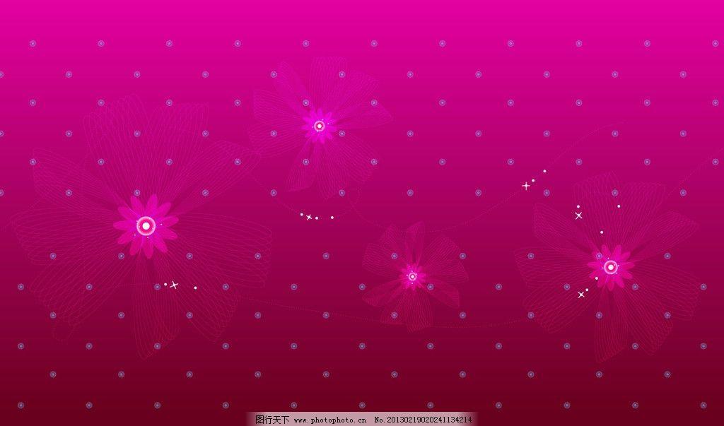 花边 花纹 炫彩背景 花朵 壁纸 枚红色 设计底纹 背景底纹 底纹边框