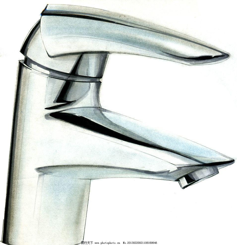 工业设计手绘淡彩草图 马克笔 周波 色粉 淡彩 快题 手绘 工业设计