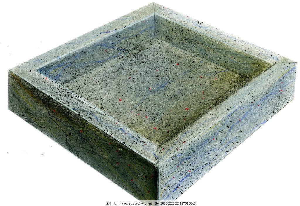 工业设计手绘淡彩草图 马克笔 周波 色粉 快题 面盆 洗脸池 石材