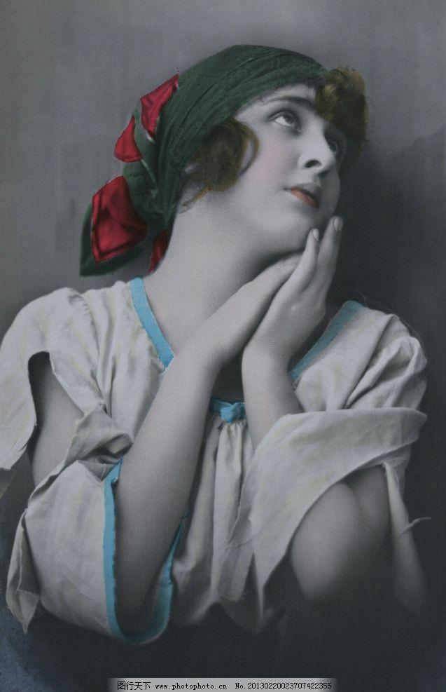 复古女士 欧洲 贵妇 西方图片