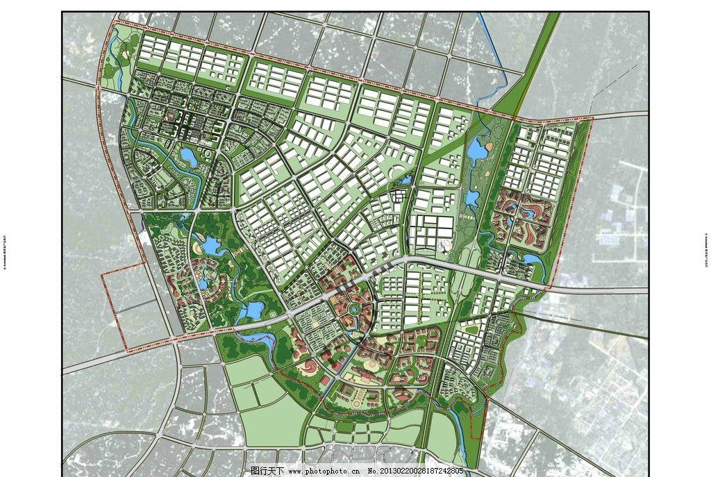 眉山城市设计总平面图图片
