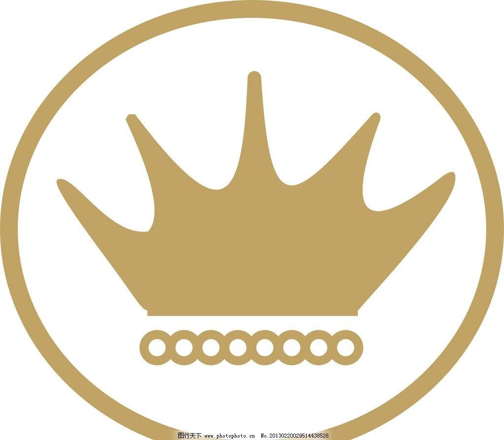 皇冠矢量 皇冠 矢量 圆形 圆圈 广告设计 cdr