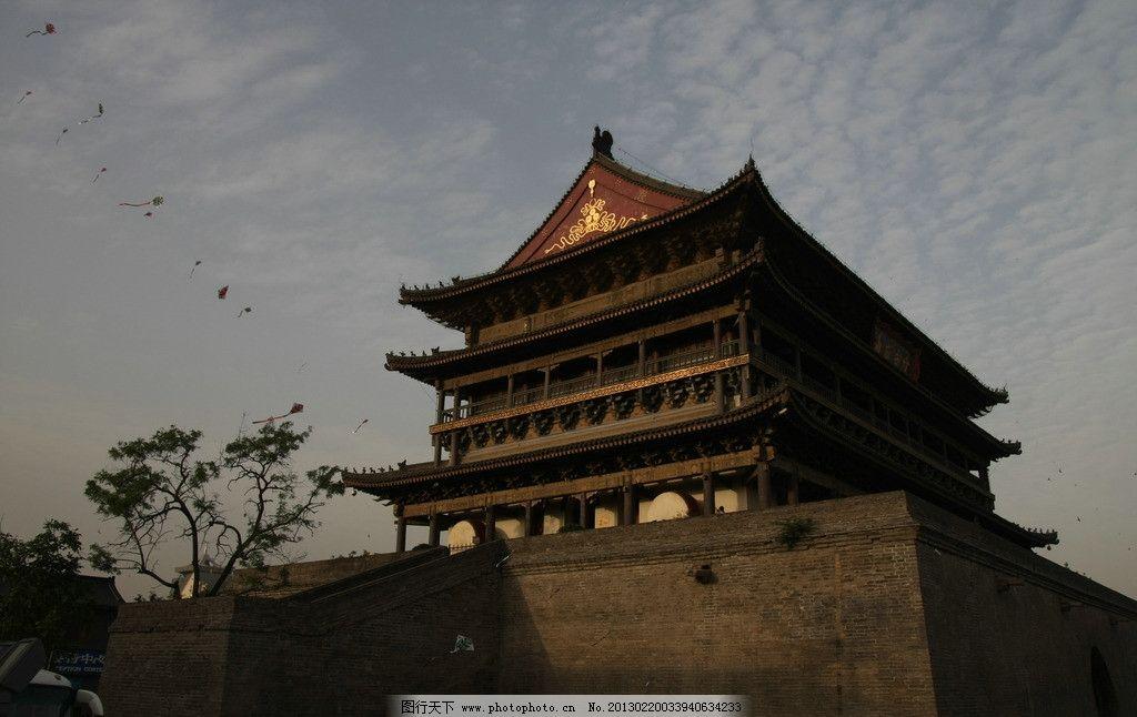 西安 城墙 古城 城门 国内旅游 摄影