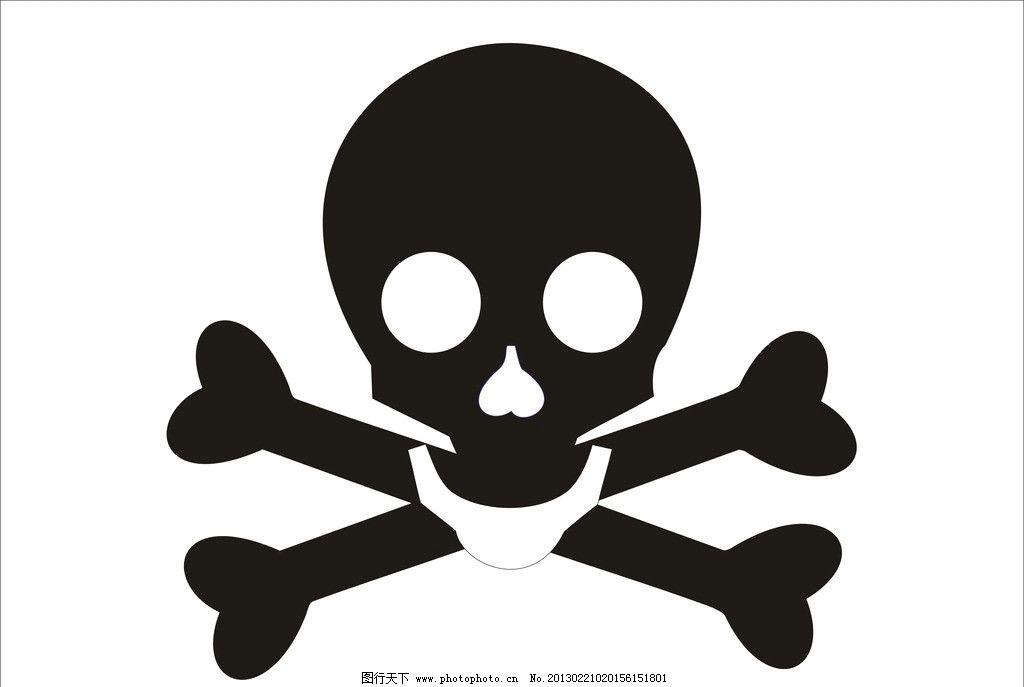 骷髅 标志 人头 骨头 其他 标识标志图标 矢量 cdr