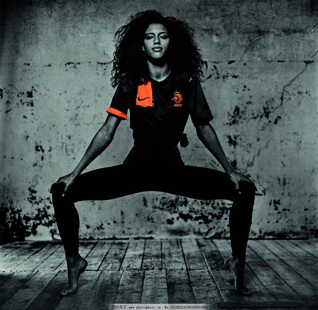 nike足球系列广告宣传平面 平面广告模特 荷兰国家队 职业人物