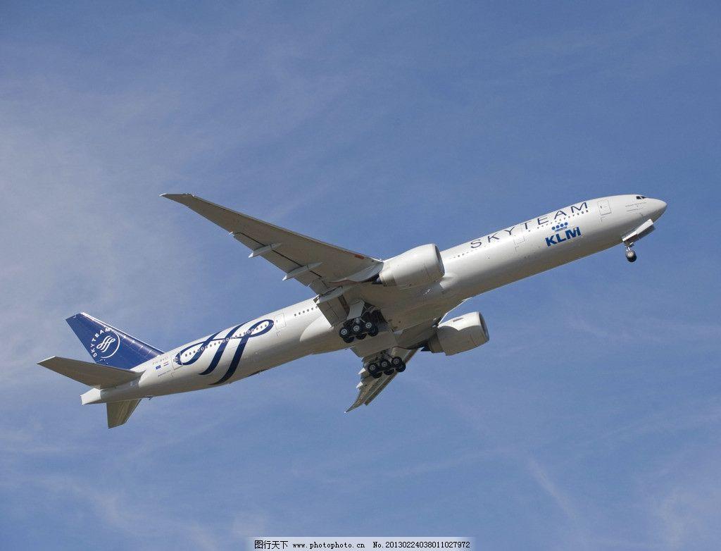 波音 远程 客机 远程客机 民航飞机 喷气式 大机身 大机翼 起落架