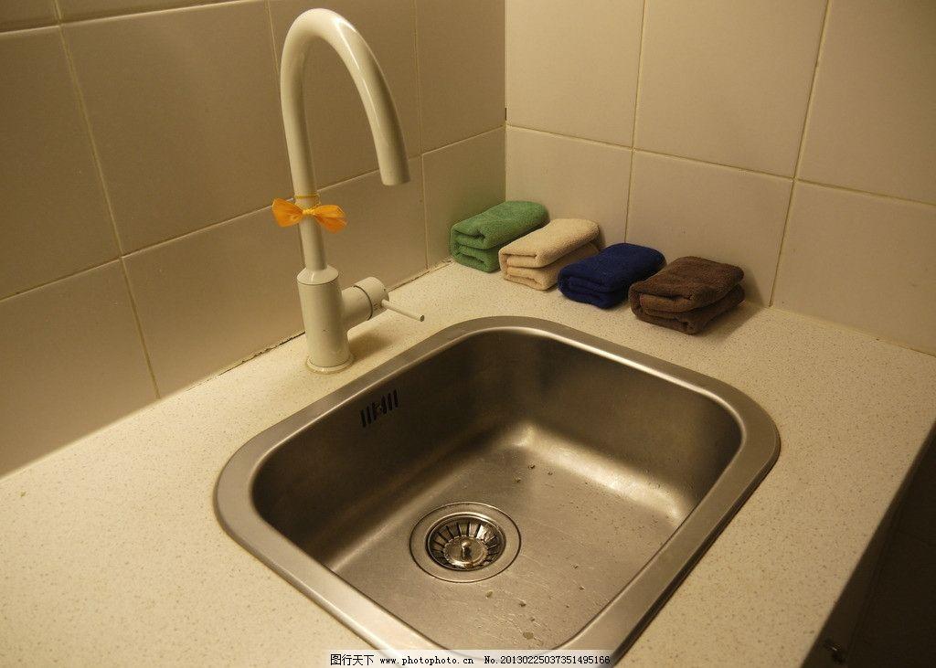 水池 洗手池 水龙头 清洁 干净 家居生活 摄影