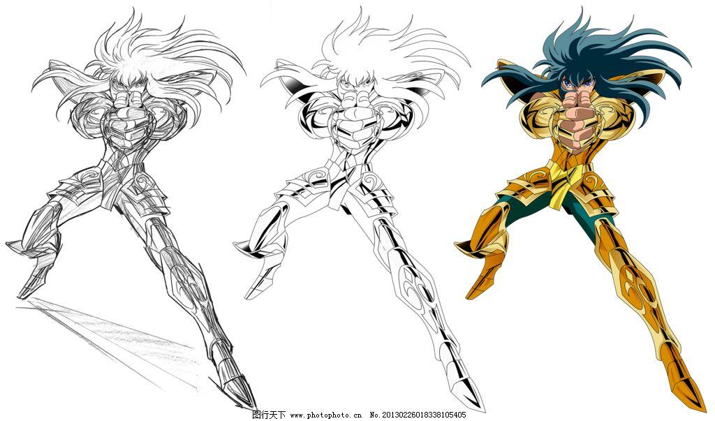 水瓶座圣斗士 圣斗士 黄金圣斗士 水瓶座 人物角色 漫画 人物 动漫