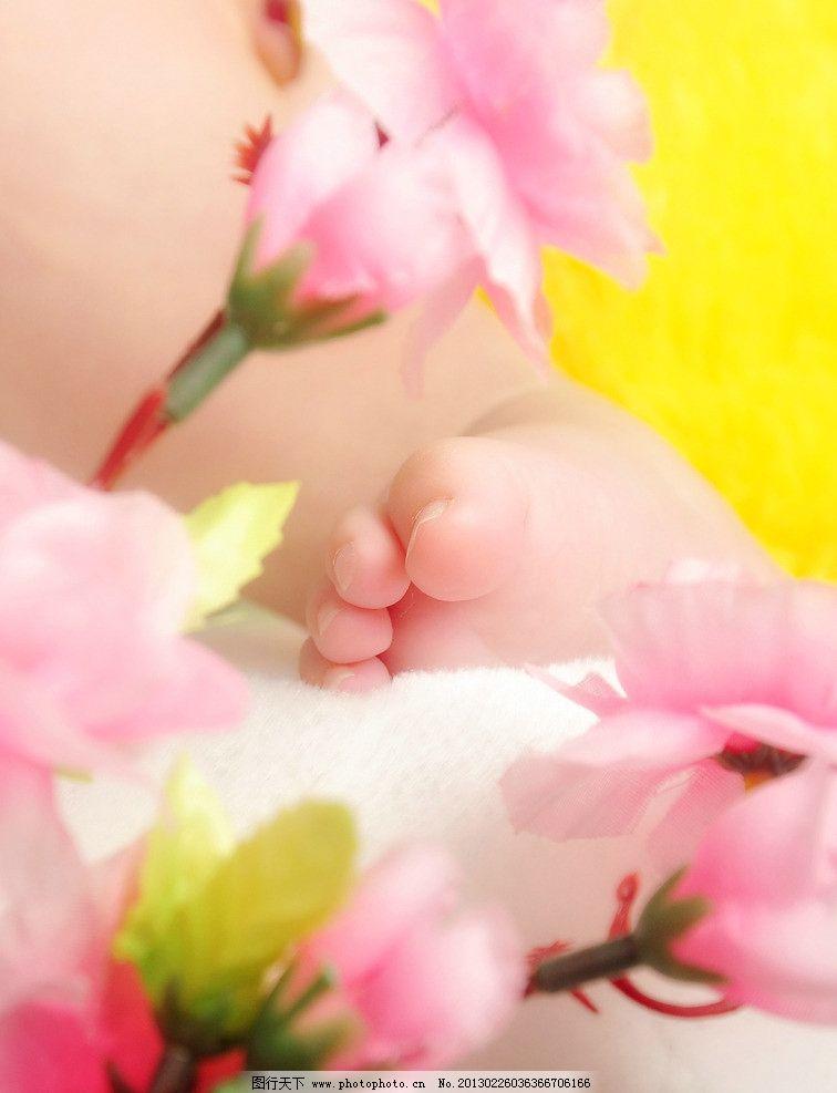 可爱宝宝小脚丫图片