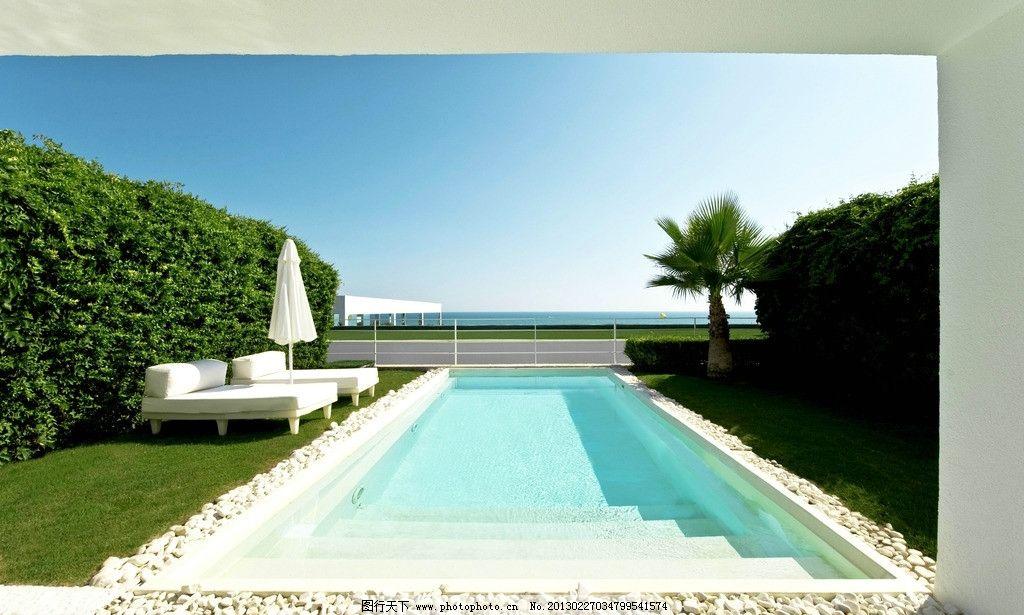 游泳池 别墅 装修装潢装饰 精装 豪华 豪宅 奢华 美景 阳台 设计 度假