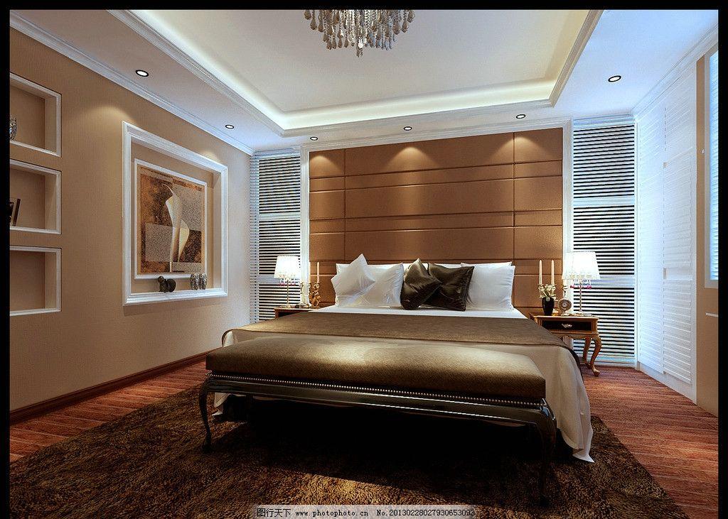 豪华套间卧室图片
