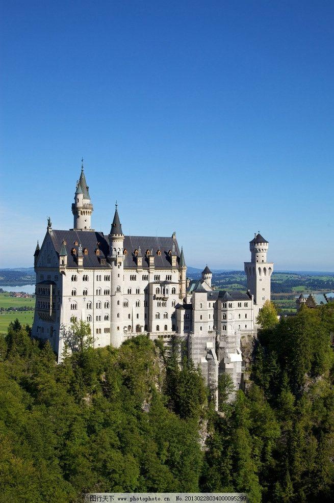 德国巴伐利亚新天鹅堡图片