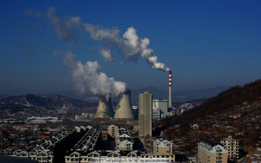 火力发电站图片