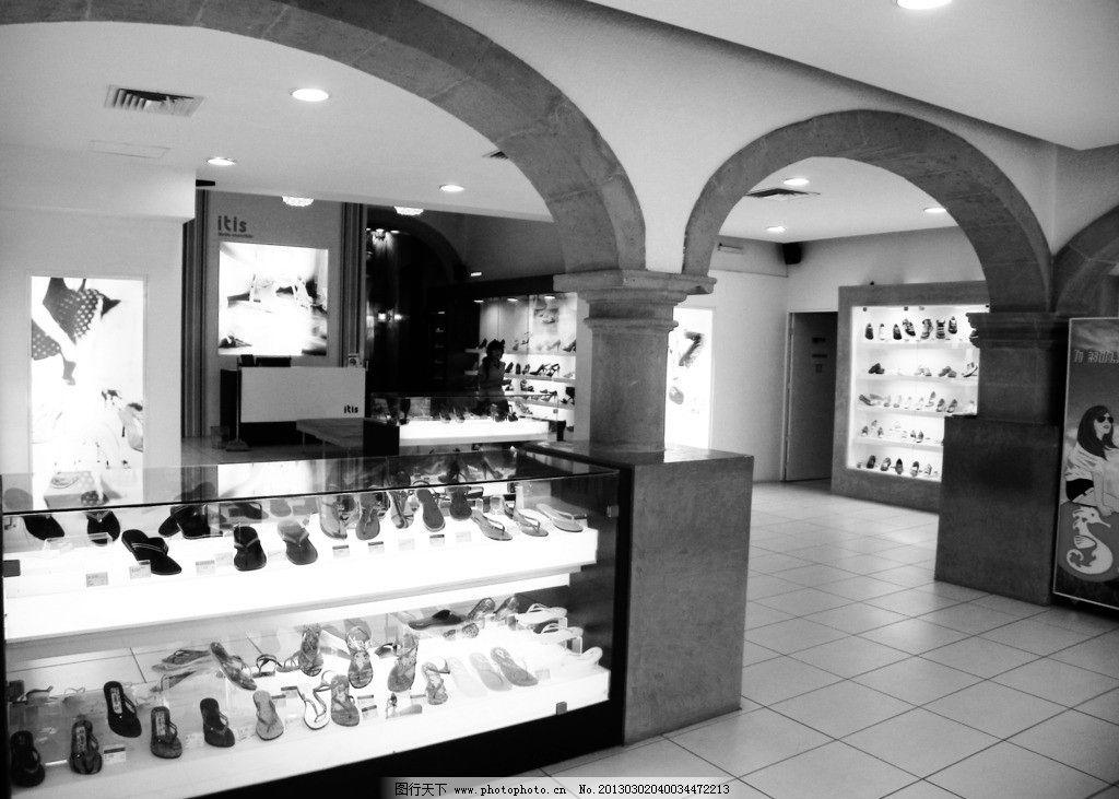 店面设计 商场 欧式建筑