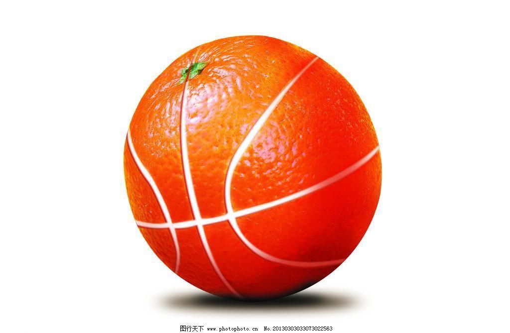 设计图库 设计元素 生物静物  350dpi psd psd分层素材 橙子 创意水果