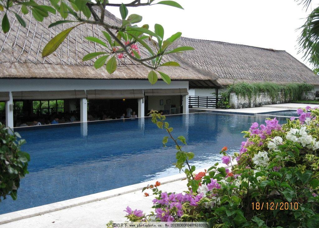别墅泳池 巴厘岛 别墅 villa 泳池 国外旅游 旅游摄影 摄影 180dpi
