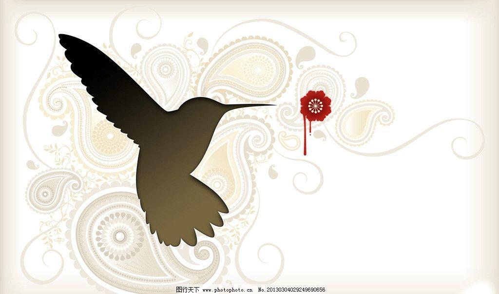 创意海报设计 鸟 燕子 花 创意海报 招贴设计 广告设计 设计 96dpi