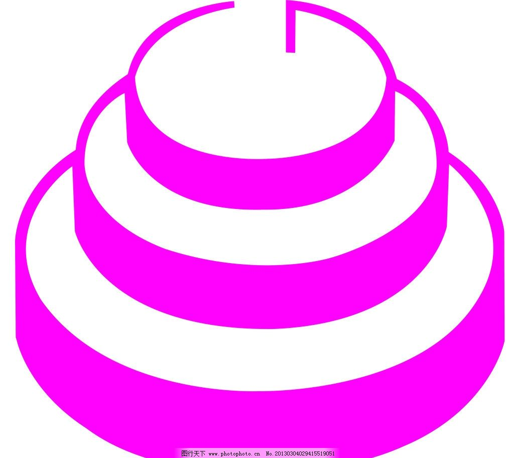 蛋糕 传统 标志设计 广告设计模板 源文件