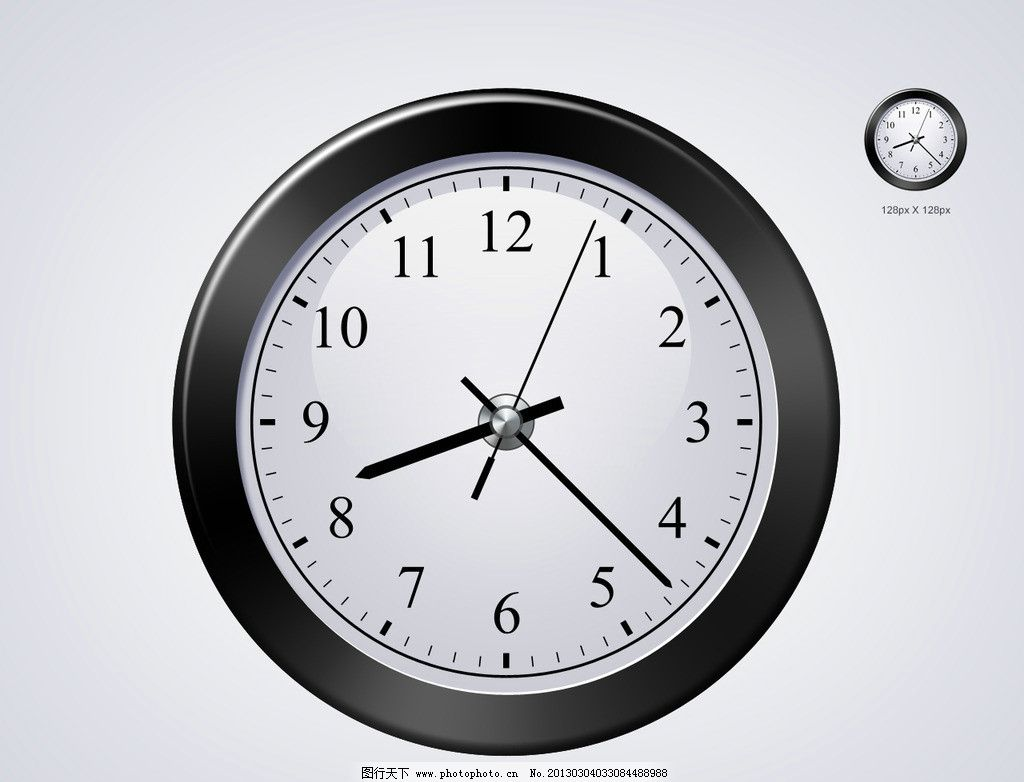 钟表 表盘 时间 大本钟 生活用品 指针 挂钟 壁钟 手表 源文件