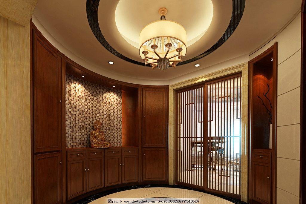 欧式玄关 玄关 室内设计
