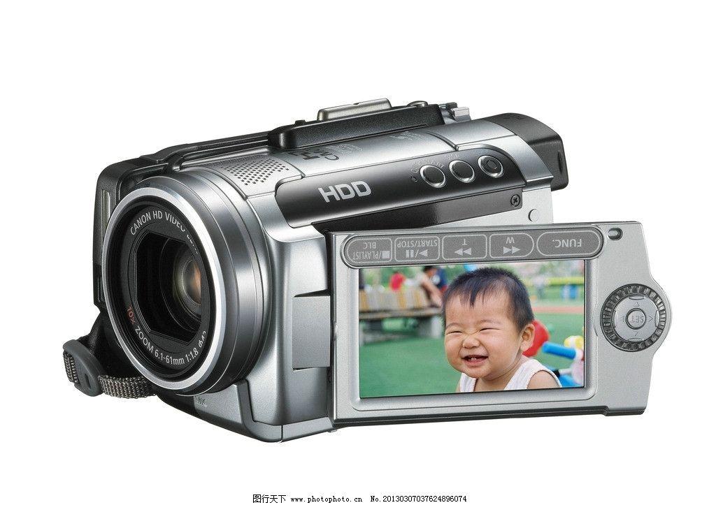 佳能 高清 数码 摄像机图片
