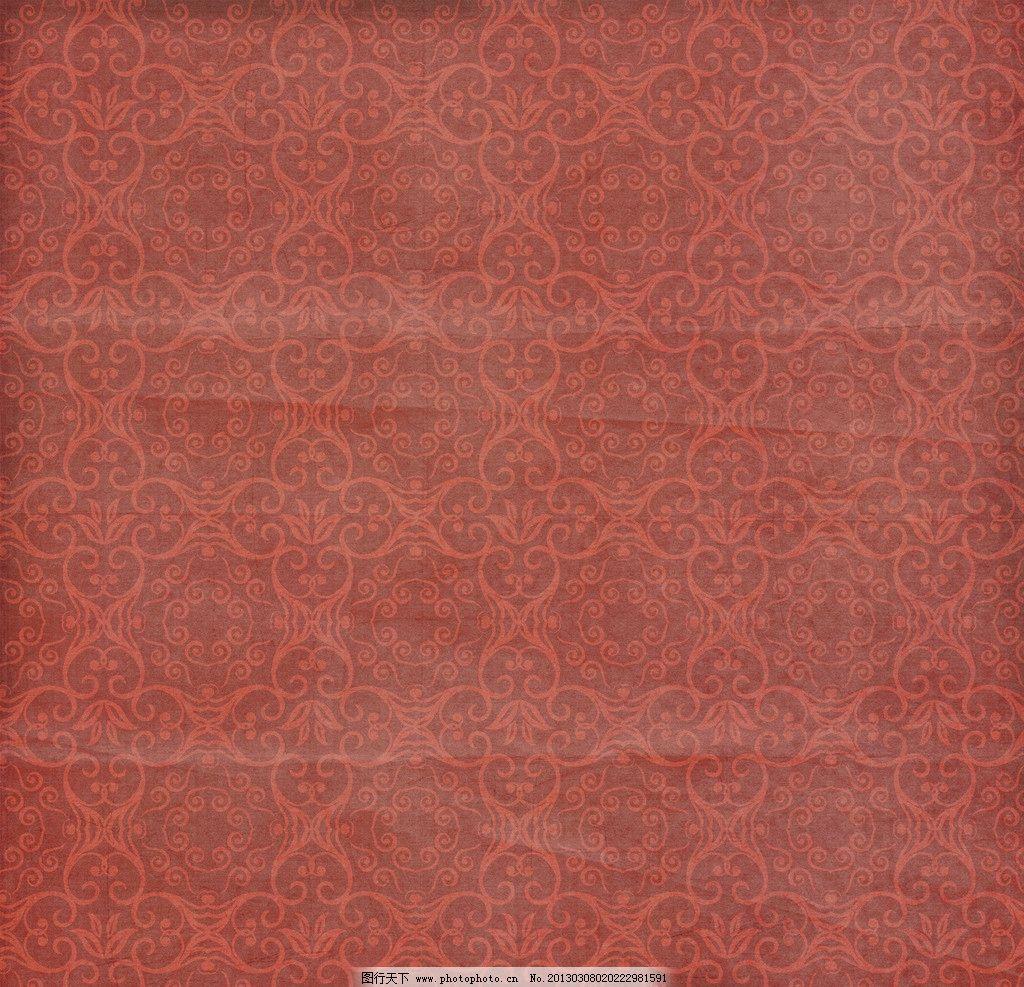 欧式复古花纹背景图片_背景底纹_底纹边框_图行天下