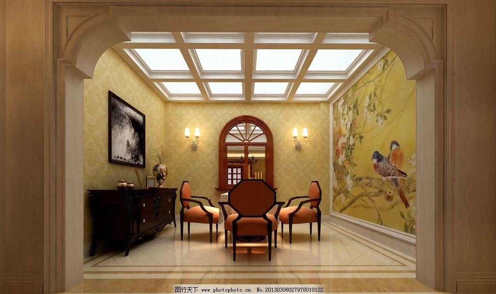 室内设计欧式效果图 室内设计