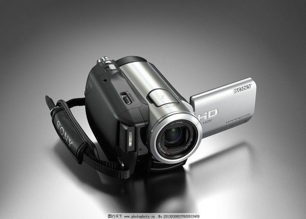 索尼 高清 数码 摄像机 数字化程序控制 高清晰画面 有声动态影像 摄录两用 外接电视插口 操作简易 高科技电子产品 娱乐生活留影留声 影像器材之一 数码类家电图集 数码家电 生活百科 摄影 350DPI JPG