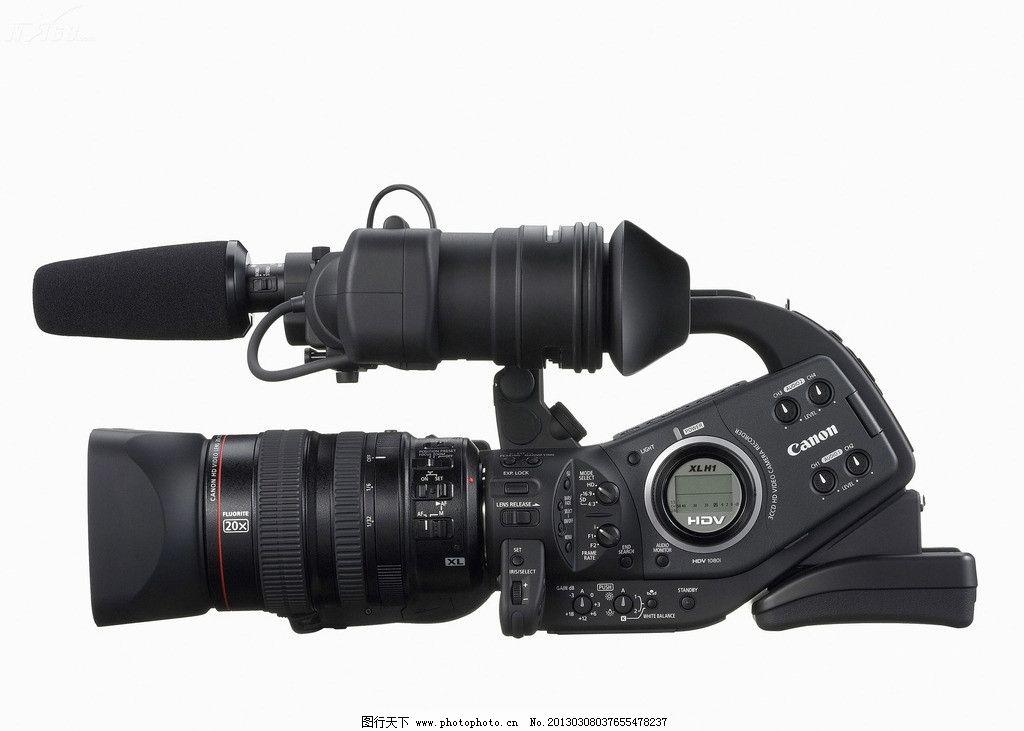 佳能 专业 摄像机图片